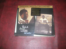 Ella & Louis Again by ELLA FITZGERALD & LOUIS ARMSTRONG MFSL 24 KARAT GOLD BOX