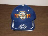 POLICE BASEBALL CAP HAT NYPD NEW YORK CITY POLICE DEPT WORLD SPORTS NEW UNUSED