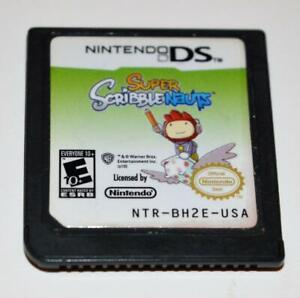 SUPER SCRIBBLENAUTS NINTENDO DS GAME 3DS 2DS LITE DSI XL