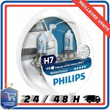 Ampoule Philips WhiteVision 12972WHVSM Effet Xénon H7 Éclairage Avant Set de 2