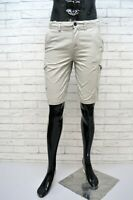 TIMBERLAND Denim Classic Uomo Bermuda Grigio Taglia 30 Pantalone Short Men