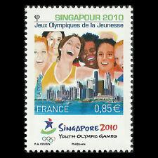 France 2010 - Youth Olympics - Singapore - Sc 3867 MNH