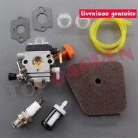 Carburateur et Filtre à Air pour Stihl FS87 FS90 FS100 FS110 FS110R FS130 FS130R