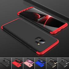 Hülle Samsung Galaxy S9 / S8+ Plus Full Cover 360° Grad Handy Schutz Case Tasche