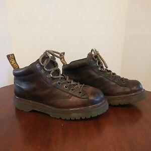Vintage Doc Dr Martens 8287 Air Wair Leather Ankle Boots Men's Size 10.
