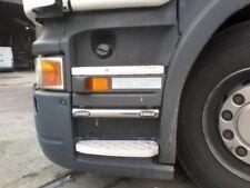 Para adaptarse a Pre 2009 Scania Serie P G R barras escalón lateral de acero inoxidable + Luces Led Blanco