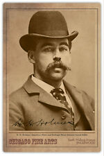 HH HOLMES Legendary Chicago Serial Murderer Con Artist Vintage Photograph RP