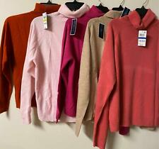 Karen Scott Womens Pullover Sweater Long Sleeve Turtleneck Petites New all sizes