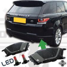 Rear fog lamp for Sport L494 2013-2017 light lens+LED bulb bumper Smoked black