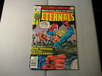 The Eternals #16 (1977, Marvel) Low Grade