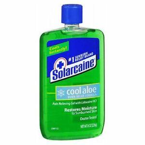 Solarcaine Cool Burn Relief Formula Gel 8 oz