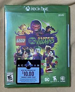 LEGO DC Super-Villains Xbox One Brand New Video Game Factory Sealed Batman Joker
