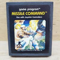 MISSILE COMMAND Atari 2600 Video Game Cartridge Only CX2638 Tested
