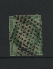 "FRANCE YVERT 2b SCOTT 2 "" CERES 15c DARK GREEN 1850 "" USED MUST SEE  T813"