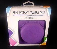 FujiFilm Instax Instant Camera Case Fits Mini 7s Purple Canvas Brand New