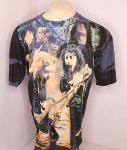 Vtg 1993 METALLICA European Tour Over Print Band Metal Concert TShirt XL Empire
