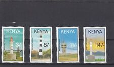 a133 - KENYA - SG589-592 MNH 1993 LIGHTHOUSES