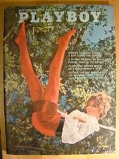 Original Playboy Magazine July 1968 Lynn Hahn cover; Paul Newman interview