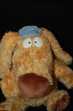 "Train Conducter Dog Kohl's Brown Blue White Cap 13"" Sandra Boynton Plush Toy"