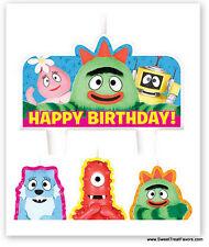YO GABBA Party CAKE TOPPER CANDLE Birthday Kit Set Decoration Cupcake Muno