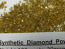 Diamond  Powder 18/20 Mesh, Grit 1000/850 microns, weight= 25 cts.= 5 Gram