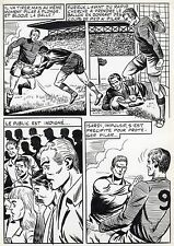 FINALE DE COUPE FOOTBALL (ROBERT HUGUES) PLANCHE ORIGINALE PILAR SANTOS PAGE 32