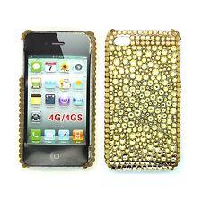 Fundas y carcasas Apple de plástico de color principal oro para teléfonos móviles y PDAs