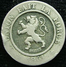 1861    Belgio Belgique Belgie    10 centesimi   centimes