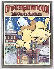 MAURICE SENDAK IN THE NIGHT KITCHEN PICTUREBOOK 1ST ED CALDECOTT HC DJ 1970 RARE