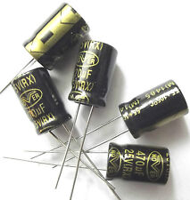 Samwha RD 470M25 Condensateur électrolytique 470uF 25 V 105/'C 10 pièces OL0169C