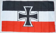 German JACK FLAG of Germany National Marine north confederation empire HUGE 5x3