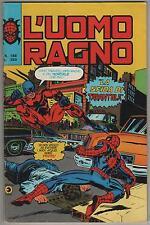 L' UOMO RAGNO corno # 188  LA SFIDA DI TARANTULA devil hulk warlock saga clone
