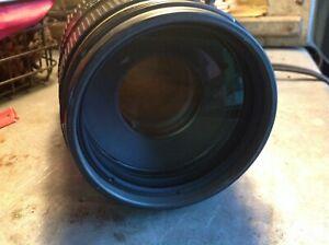 Nikon AF VR Zoom-Nikkor ED 80-400mm 1:4.5-5.6D with soft case