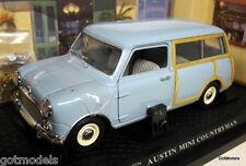 Kyosho échelle 1/18 08191B austin mini countryman original vers diecast voiture modèle
