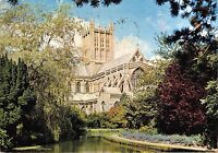 BR91064 wells cathedral somerset palace grounds  uk