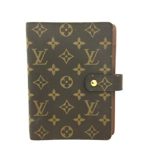 Louis Vuitton Monogram Agenda MM Notebook Cover /C1136