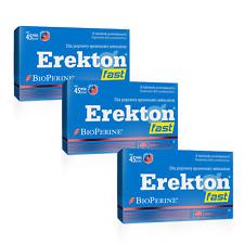 OLIMP EREKTON FAST 8/16/24/32 Top Wirkung Sofort Sexpillen Potenzmittel LIBIDO