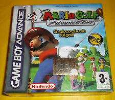 MARIO GOLF ADVANCE TOUR Game Boy Advance Gba Versione Italiana ○○○○ NUOVO
