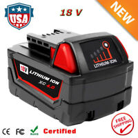 For Milwaukee M18 48-11-1852 48-11-1850 18Volt XC 4.0 Li-ion Extended Battery