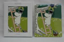 1 x Boxed Arabia Moomin Tree Wall Tile Pappa Moomin Pottery Finland