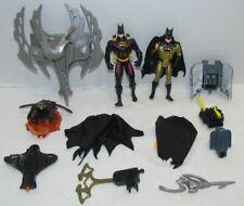 1990s Kenner Batman Action Figures Parts Lot: Blast Cape, Aero Strike, more