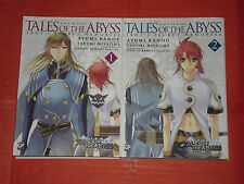 TALES OF THE ABYSS-MINISERIE COMPLETA N°1/2- DI:AYUMI KANOU-MANGA GP PUBBLISHING
