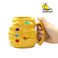 Marvel Avengers 4 Endgame Thanos Cosplay Glove Milk Coffee Mugs Ceramics Cup