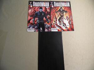 Shadowman #1 (Valiant 2012) + 2 Variant / Free Domestic Shipping