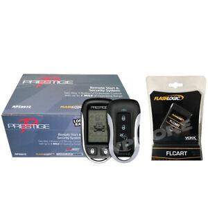 PRESTIGE APS997Z 2-Way LCD 1-Mile Remote Start and Alarm + Flashlogic FLCART