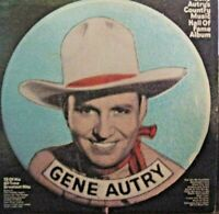 Gene Autry-Country Music Hall Of Fame Album-LP-1970-VG+/VG+