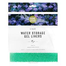 2er Pack Wasser Lagerung Gel Auskleidungen Garten Blumenampel Töpfe Kompost 36cm