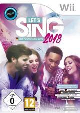 Let's Sing 2018 mit deutschen Hits (Nintendo Wii)