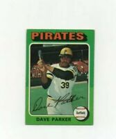 1975 Topps Dave Parker Baseball Card #29 - Pittsburgh Pirates HOF