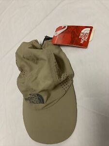 North Face Sunshield Ball Cap Beige adjustable Size Large Xl NWT